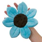 Baby Blue Mini Bloom Soft Baby Bath Flower Scrubbie - Blooming Bath Wash Cloth