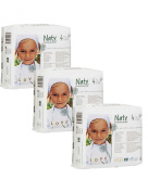 Pack Of 3 Naty Maxi Nappies (Size 4) 81 Nappies