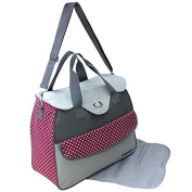 GMMH 2-piece Nappy Bag Clean Bag Colour Selection bordo 2150