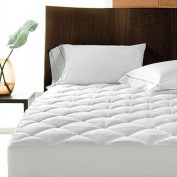 Polycotton Quilted Mattress Protector, Extra Deep, Double