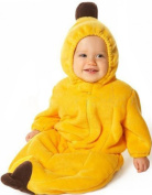 DINGANG Cute Yellow Banana Shaped Single-Layer Soft Fleece Baby Infant Toddler Sleeping Bag Sleep Sack Photography Prop