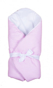 Vizaro - Swaddle Wrap for newborn - 100% Luxury Cotton - Pink & White Collection - Tested against harmful substances - Made in EU