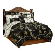 Realtree Ap Black Comforter/Sham Set, Full