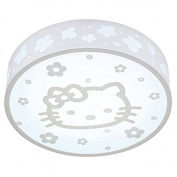 White Cartoon Cat Girl's Room Ceiling Lamp Creative Acrylic Baby Room Ceiling Lights LED Bedroom Ceiling Light