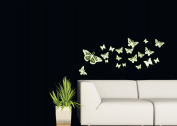 Wall sticker deco Glow Buterflies