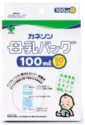 Kaneson 50 pieces breast milk storage bag 100ml [Japan Import]