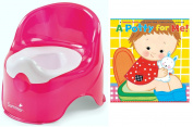 Summer Infant Lil' Loo Toddler Potty with A Potty For Me! Book by Karen Katz,...