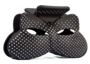 Bow Hair Clip With A Stylish Dots Available in a Range of Colours