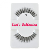 Vivi's Collection F5 Finest Eyelashes Black False Fake Eye Lashes