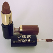 New Eve Trendy 2 in1 Match it DOLCE brown Lipstick and Lip Gloss 15ml Cosmetic Duo Makeup