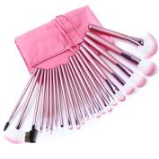 Eleacc 22 Pieces Make up Brushes Set Soft Powder Kabuki Cosmetic Set Kit Eyeshadow Foundation Powder