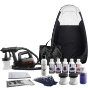 Maximist 'MEGA' Lite Plus - Complete spray tan kit with black tent & much more - all you need to get started!