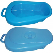 Economy Bed Pan with Lid