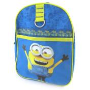 "Backpack 'Minions'yellow blue (29x22x9 cm (0.00""x8.66""x3.54"") )."