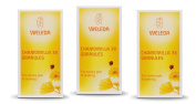 THREE PACKS of Weleda Chamomilla 3x Granules