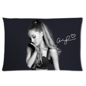 Ariana Grande pure and beautiful Girl Pillowcases 16*24  one side .