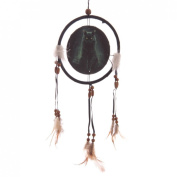 Decorative Fantasy Black Cat Dreamcatcher Small Christmas Gift Idea