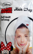 Disney Minnie Mouse White MicroFibre Hair Wrap