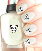 Easy to use, high quality nail art decal stickers for every occasion panda