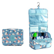 Hjuns Potable Travel Folding Make up Toiletry Bags with Hook Organiser Bags Cosmetic Bags