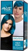 SPLAT Hair Colour Complete Kit, Aqua Rush,