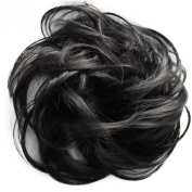 Toptheway Scrunchy Scrunchie Messy Curly Bun Updo Hairpiece Extensions