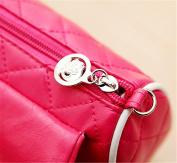 Scheppend Little Girls Cute Princess Bow Strip Bead Messenger Shoulder Bag Handbag Purse