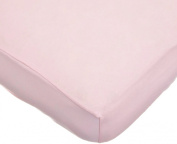 American Baby Company 100% Cotton Value Jersey Knit Crib Sheet, Pink