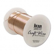26 Gauge 102 Feet Bright Copper Craft Wire Non Tarnish 31 Metres Wrapping Craft