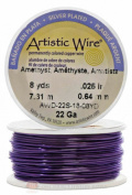 Amethyst Artistic Craft Wire 18 Feet 5.48 Metres Jewellery Beading Crafts 20 Gauge