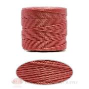 Pink 77 Yds. Super-Lon #18 Beading Crafting Stringing Crochet Cord