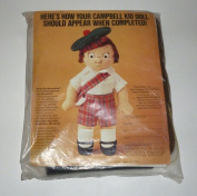 Vintage Campbell Soup Kid Boy Doll Kit