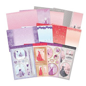 Hunkydory Deluxe Kit Dressed to Impress 12 Sheets Card Making Papers