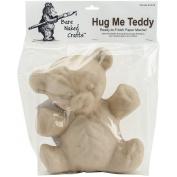 Paper Mache Hug Me Teddy-25cm x 21cm X4.190cm