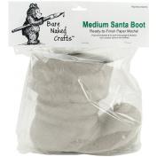 """Paper Mache Medium Santa Boot-19cm x 19cm X5"""""""