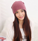 Fashion New Knit Baggy Beanie Hat with Star Female Warm Winter Hats for Girls Women Beanies Bonnet Head Cap