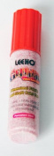 Leeho UG7/Red | Red Permanent Glitter Fabric/Textile Paint Pen | 20ml