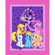 My Little Pony Pyramid Micro Fleece No Sew Throw Kit