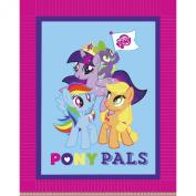 My Little Pony Pals Micro Fleece No Sew Throw Kit