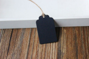 500 Pieces Black paper Hang Tags, Merchandise Tags, Price Tags 3cmx5cm