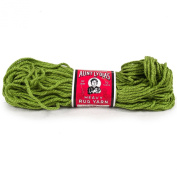 Grass Green (Dark Green) Aunt Lydia's Heavy Rug Yarn. 75% Rayon and 25% Cotton
