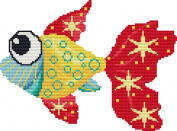 Funky Fish Cross Stitch Pattern