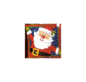 Vervaco 1200/927 Canvas Father Christmas Cushion Front Cross Stitch Kit 40cm