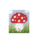 Orchidea ORC.9718 | Zweigart Canvas Toadstool Beginner Tapestry Mini-Kit 11x23cm