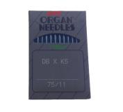 Organ DB X K5 ( 65/9) ; DB X K5  (75/11) ;DB X1 ( 90/14)  Industrial Needles