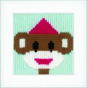 Long Stitch Kit: Circus Monkey