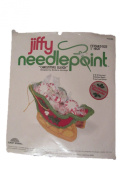 Jiffy Needlepoint Christmas Sleigh 3D Ornament Kit #5040