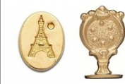 Brass Wax Seal Stamp -Eiffel Tower