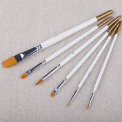 C-Pioneer Professional Painting Set 6pcs Acrylic Oil Watercolours Artist Paint Brushes
