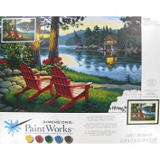 Adirondack Evening Paint by NumberNew by